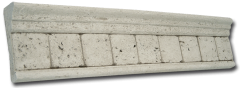 Travertine Molding Grey
